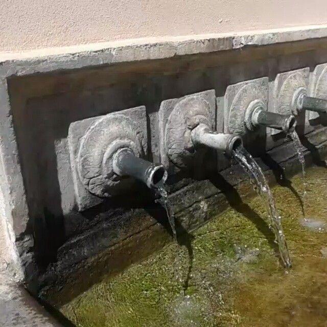 Fonte dei canali, Rio nell'Elba  5 bocche in ottone
