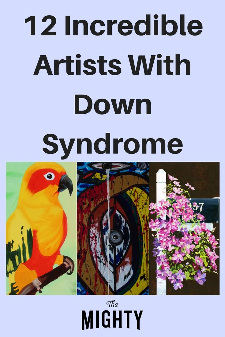 12 Incredible Artists With Down Syndrome | The Mighty