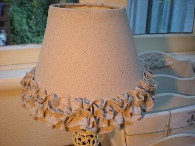 Rachel and I made this lamp shade for her baby's room using the fabric remnants of her wedding dress. Vindicated for saving them all that time! It is so darn sweet and we are adding beads down the center of the smaller ruffle. Making matching tiebacks for the curtain.