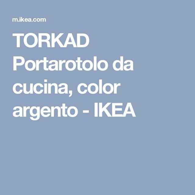 Oltre 25 fantastiche idee su cucina ikea su pinterest for Portarotolo ikea