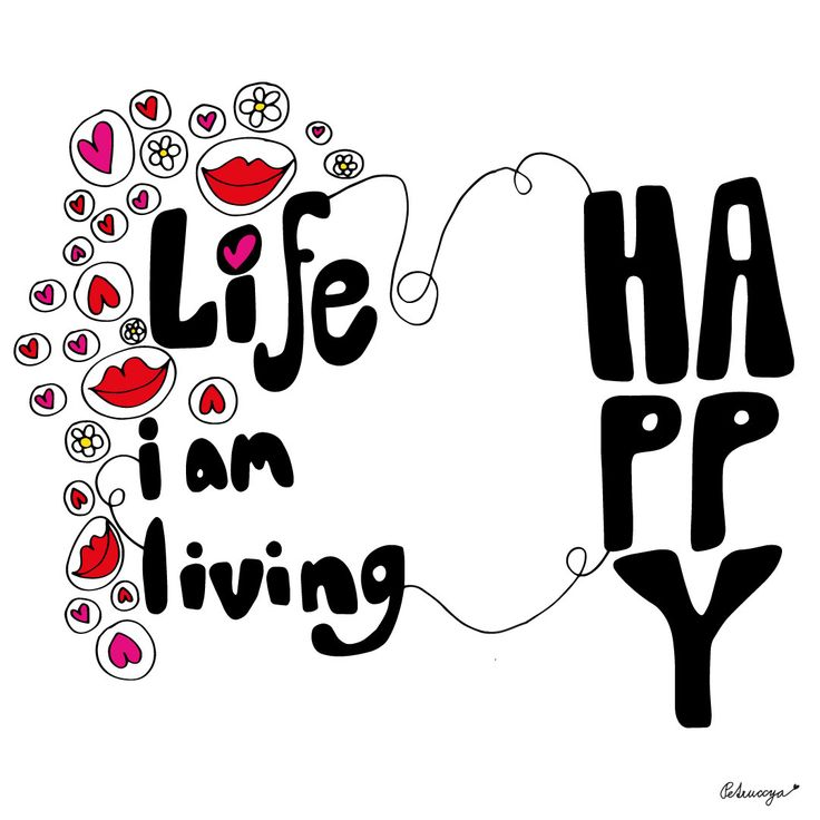 Happy life quote by Petruccya