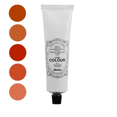 A New Colour Copper.    Natural Active Ingredients:  Monoethanolamine - natural biodegradable alkalizing agent;  Natural carotenoids - vegetable pigments with an antioxidant action;  Vegetable melanin - an antioxidant and anti-free radical.