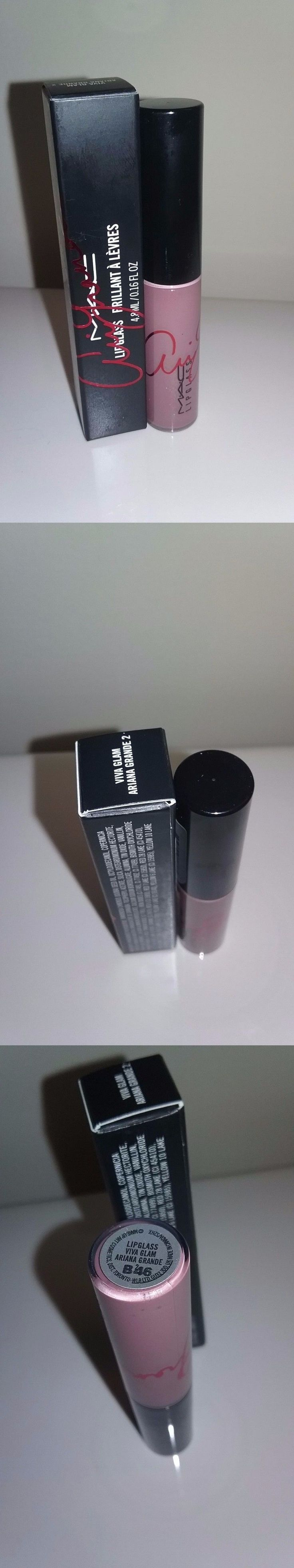 Lip Gloss: Nib Mac Viva Glam Ariana Grande 2 Lipglass Lip Gloss Full Size Shimmer .16 Oz -> BUY IT NOW ONLY: $36 on eBay!