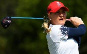Charley Hull - Rio 2016 Olympics: Team GB's Charley Hull starts quest for golf gold with a 68 as Ariya Jutanugarn sets early pace