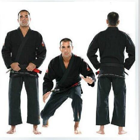 Brazil Brazilian KORAL Jiu Jitsu Judo Gi Bjj Gi Classic Black Blue White belt size A1-A4