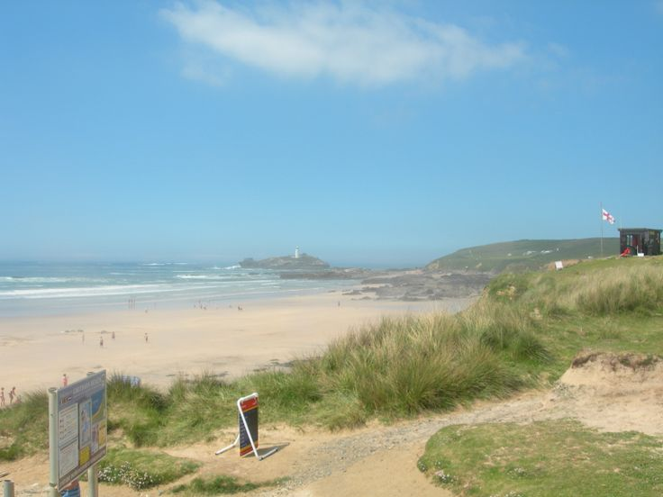 Godrevy Beach in Gwithian, Cornwall 2010