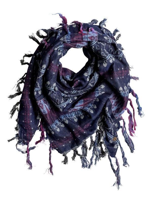 roxy, Квадратный шарф Easy Blues, SAYRA BLUE PRINT (bsq8)