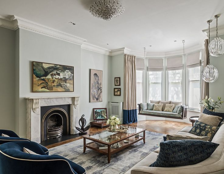 Top 12 interior design living room ideas from the best uk interior designers
