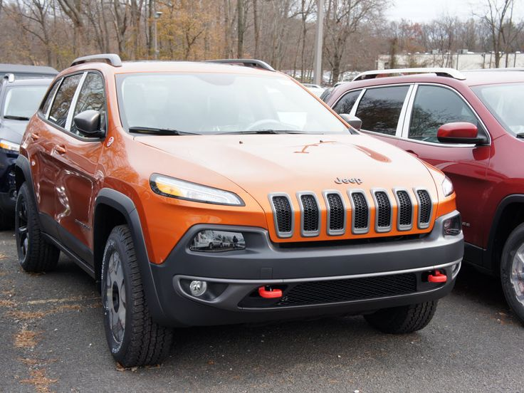 New 2015 Jeep Cherokee Trailhawk