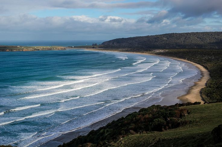 The Florence Hill Lookout is on the road between Invercargill and Papatowai in the Catlins, just on the side of the road. It overlooks...
