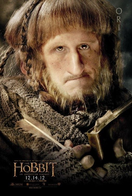 Ori, brother of Nori and Dori. One of the youngest dwarves in the Company of Thorin Oakenshield. He is portrayed by English actor Adam Brown.