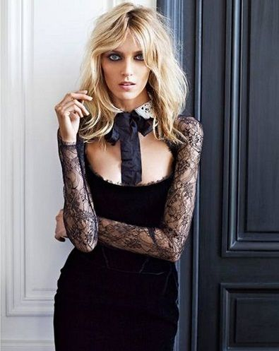 Anja Rubik. Polish model