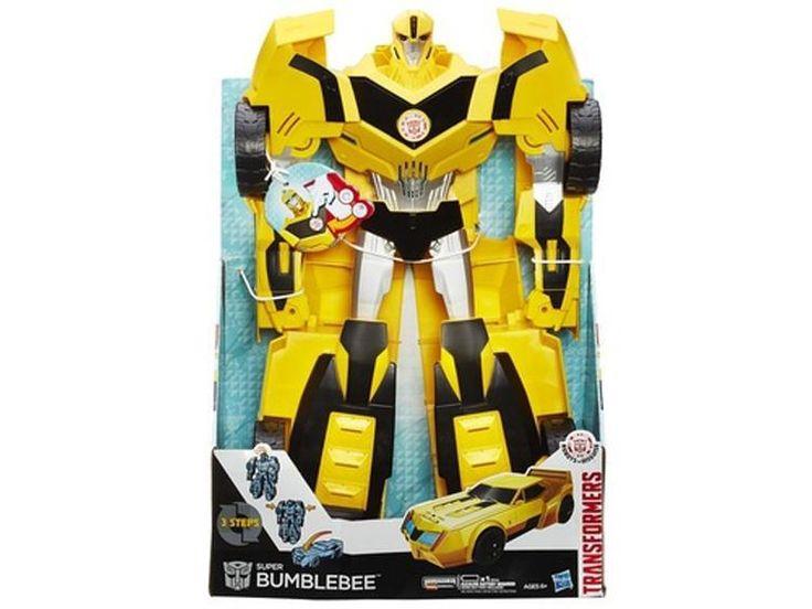 Transformers Robots In Disguise Super Hyper Changer Bumblebee