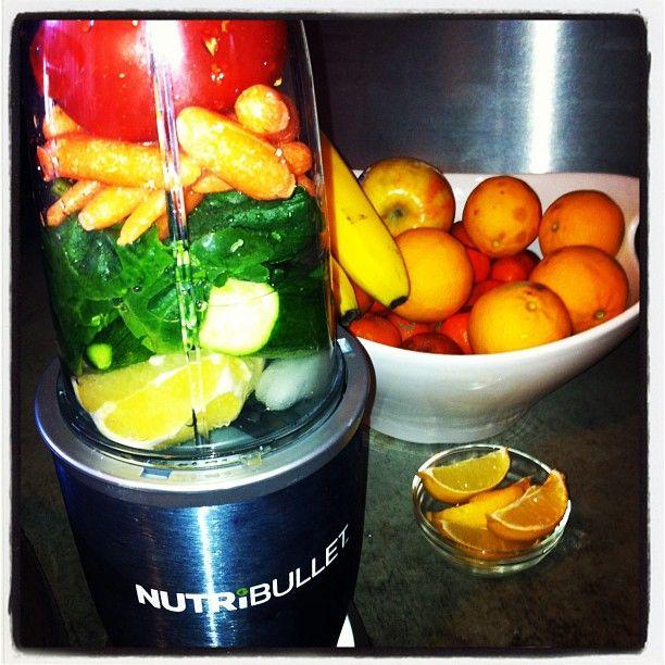 V8 Smoothie - tomato, carrot, spinach, lemon, cucumber, celery, avocado, tabasco