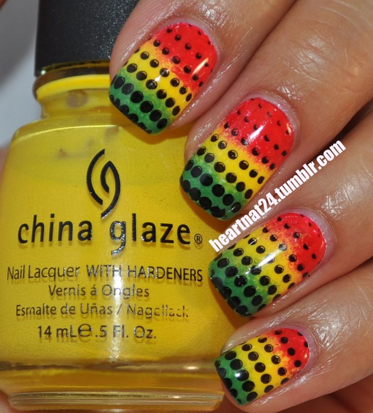 rasta nails - 25+ Unique Rasta Nails Ideas On Pinterest Bob Marley Nails, DIY