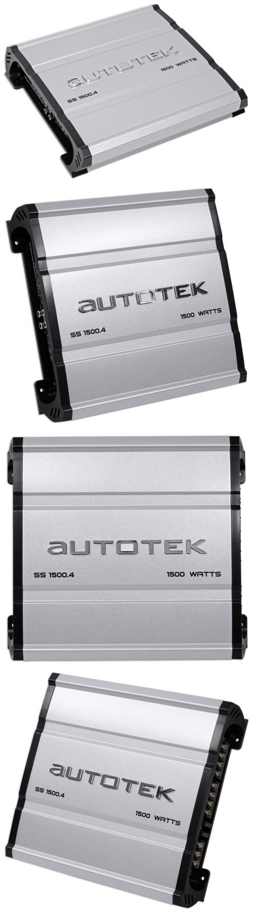Car Amplifiers: Autotek Ss1500.4 Super Sport 1500W 4-Channel Car Audio Amplifier Class A B Amp -> BUY IT NOW ONLY: $62.95 on eBay!