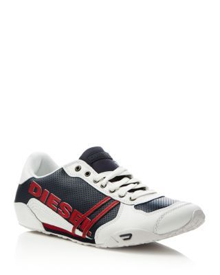 DIESEL Harold Solar Lace Up Sneakers. #diesel #shoes #sneakers