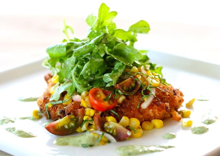Green goddess, Crispy chicken and Heirloom tomatoes on Pinterest