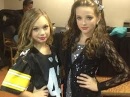 Maddie and Kendall-Maddie looks so small!