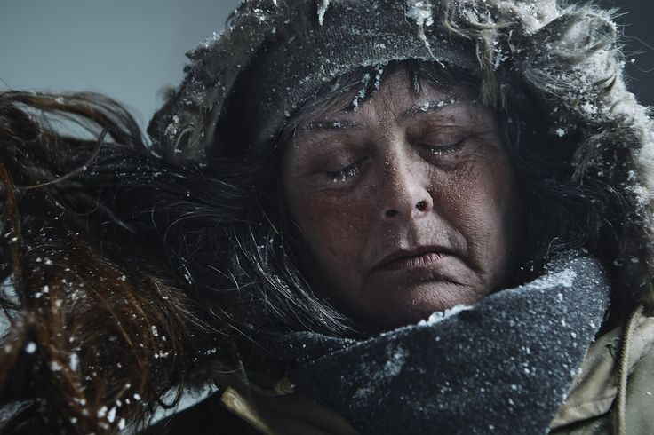 """Joey L. • Portrait of Sue Aikens for National Geographic Channel's """"Life Below Zero"""""""