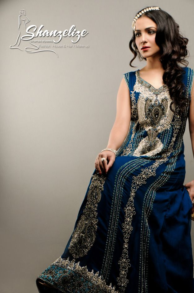 Vestidos de noiva islâmicos---Vestido do Paquistão da Shanzelize