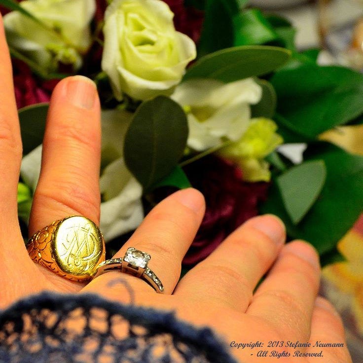 """WIR HABEN """"JA"""" GESAGT!   --   2013/12/05:        Heute, so um 11:00 Uhr herum haben wir     - Steffi und Kim -     im Rådhus in Tønder, Dänemark geheiratet!"""