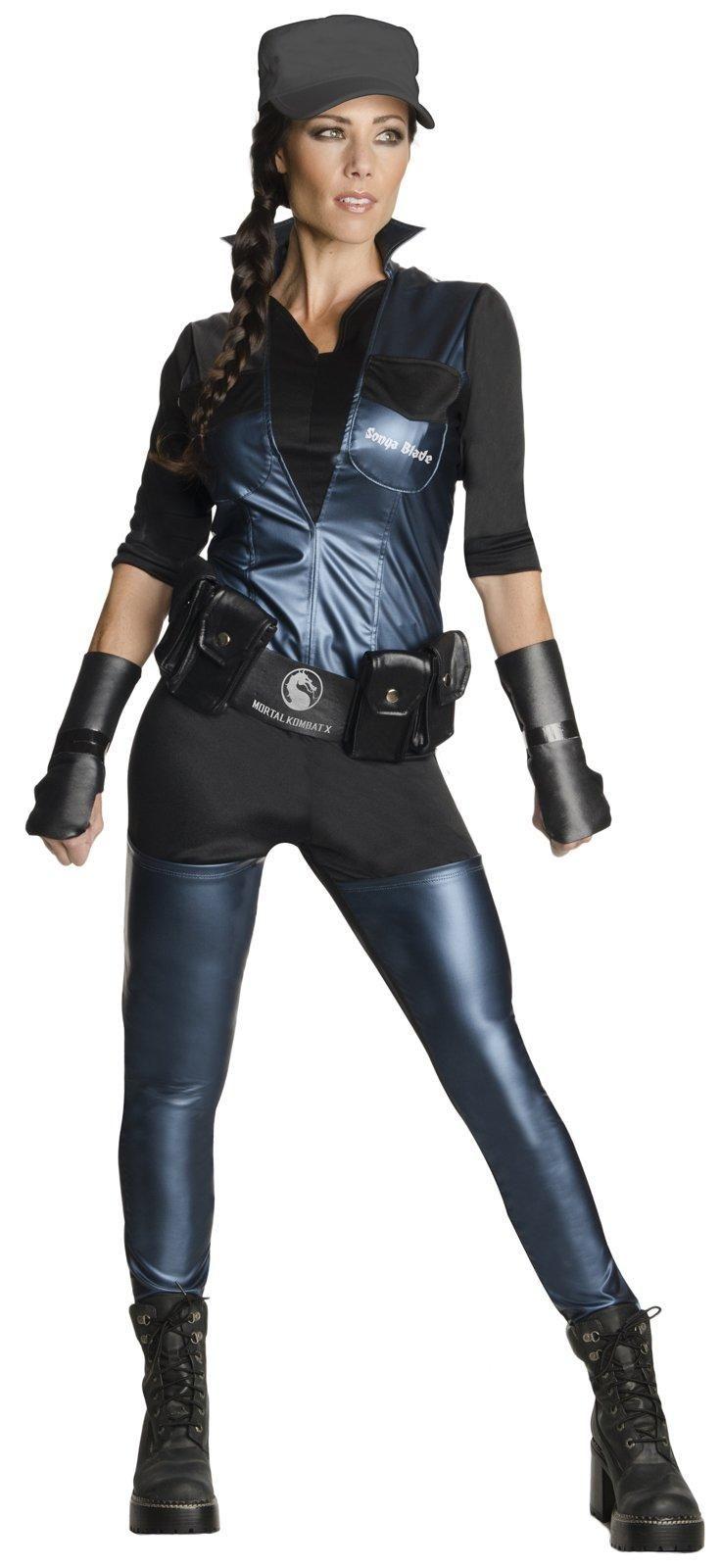 Mortal Kombat: Womens Sonya Blade Costume from Buycostumes.com