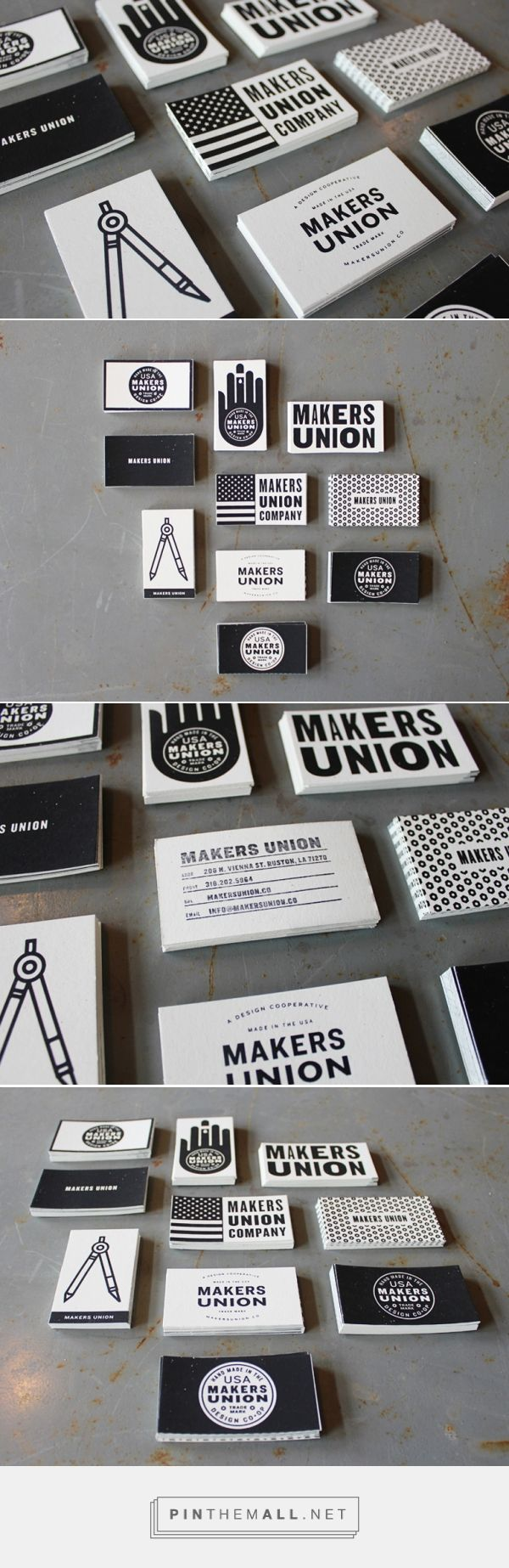 FPO: Makers Union Business Cards | Business Cards | Pinterest ...