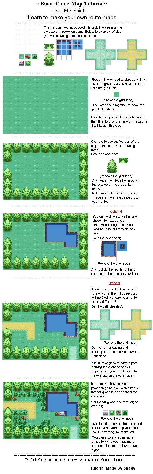 Route Map Tutorial: