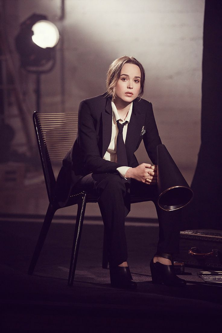 Ellen Page - Olivia Malone Photoshoot for The Hollywood Reporter May 2014