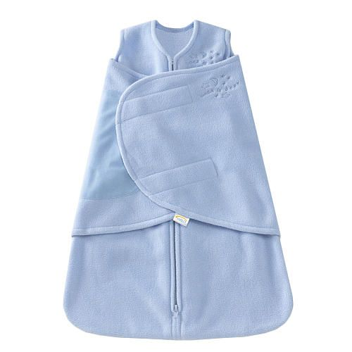 "HALO SleepSack Swaddle Microfleece - Blue (Newborn) - HALO  - Babies""R""Us"