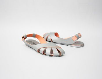 Unifold sandals (they're made of recycled materials and help those in need!)