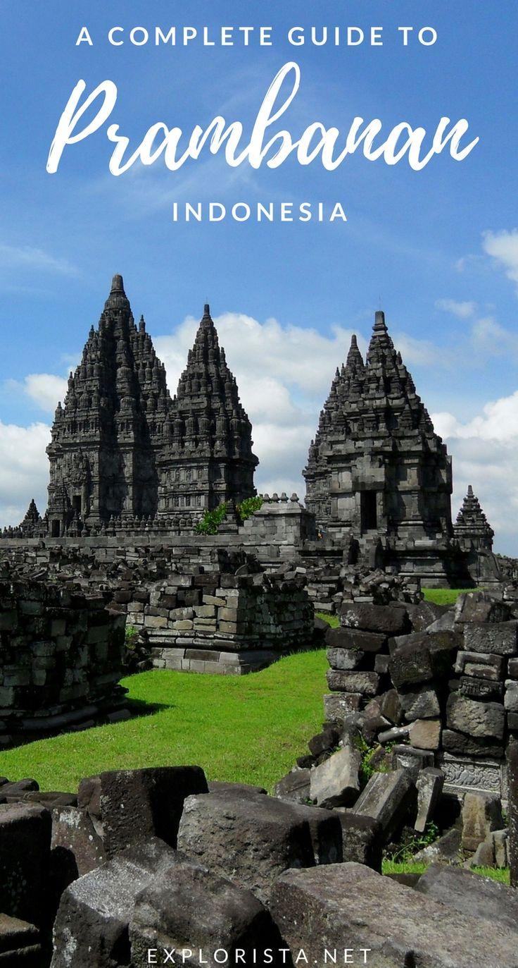 All the best travel tips on visiting the stunning heritage site Candi Prambanan (Prambanan Temple) in Yogyakarta, Indonesia. #prambanantempletravel #indonesiatravel #prambananindonesia