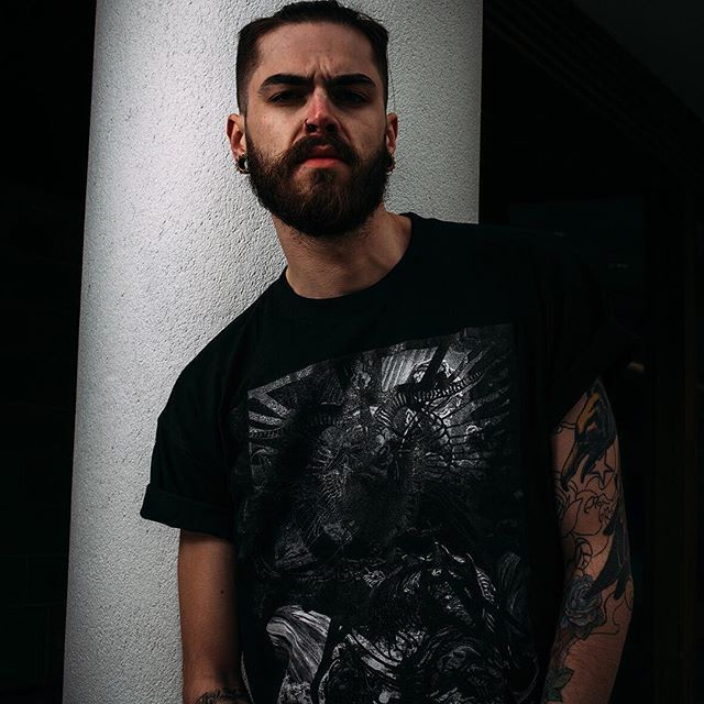 """Leviathan"" Tee Available at www.crmc-clothing.co.uk 