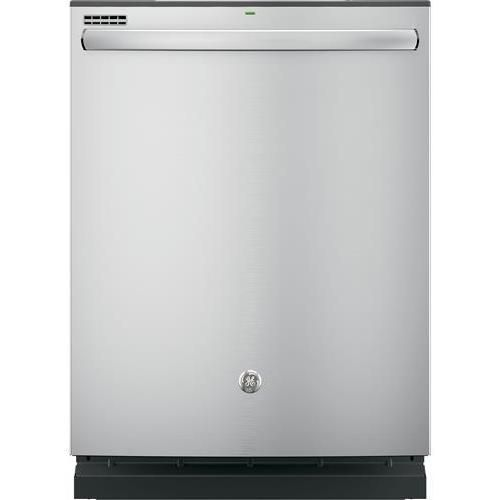 GE Dishwasher with Hidden Controls