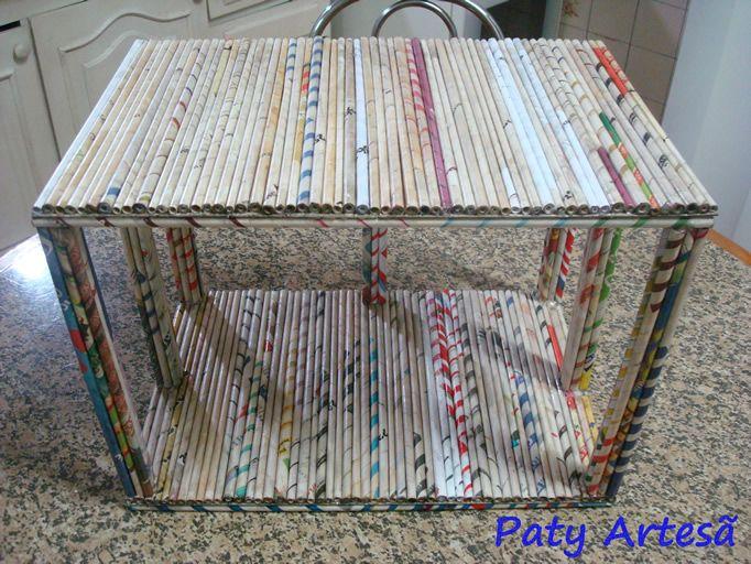 O Que Mais Vende Em Artesanato ~ fazer caixas trançadas com jornais Pesquisa Google Caixas Maravilhosas Pinterest Pesquisa