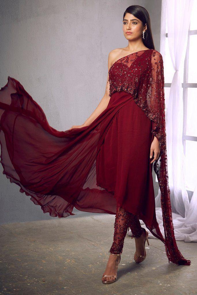 A one stop destination where Romantic silhouettes combined with unique drapes and geometric designs ch… in 2020   Designer bridal lehenga, Designer dresses, Lehenga