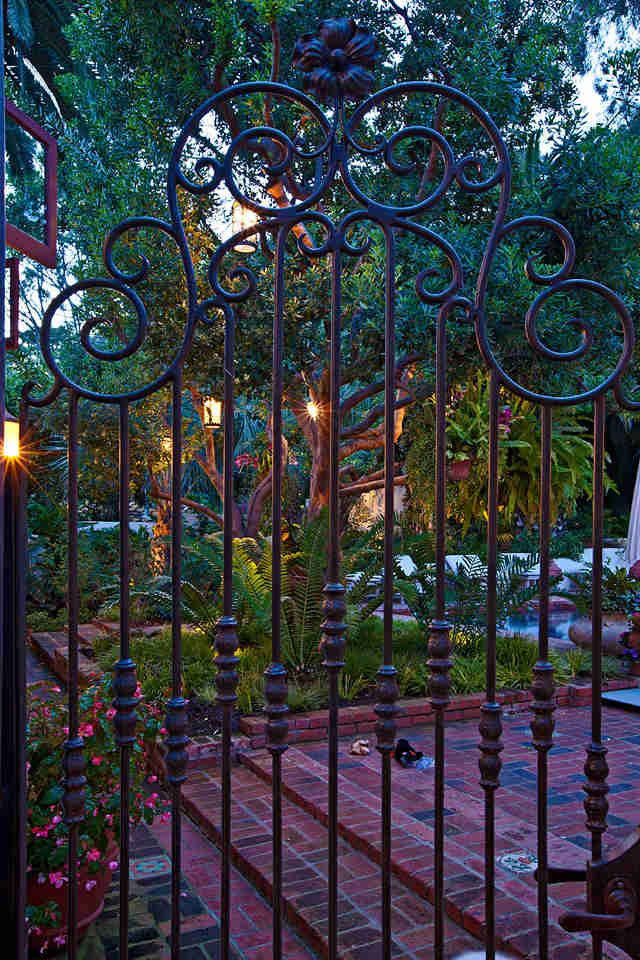 13 best interior doors images on pinterest interior - Interior decorative wrought iron gates ...