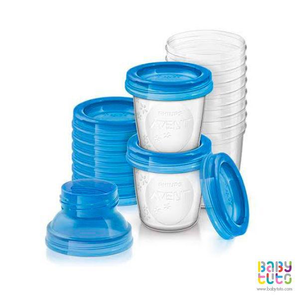 Set almacenamiento leche materna. 10 unds. Marca: Avent http://www.babytuto.com/productos/lactancia-bolsas-para-almacenar-leche,set-de-almacenamiento-de-leche-materna-180-ml-10-unidades,38770?bt_f=brand