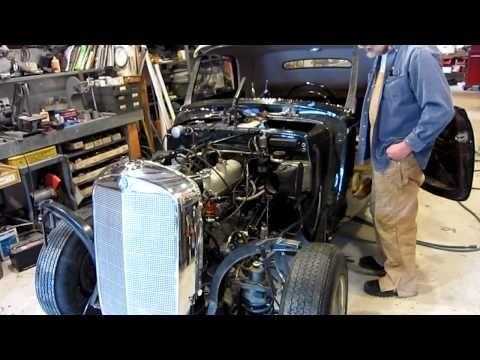 Ron's 1954 Mercedes 220 - YouTube