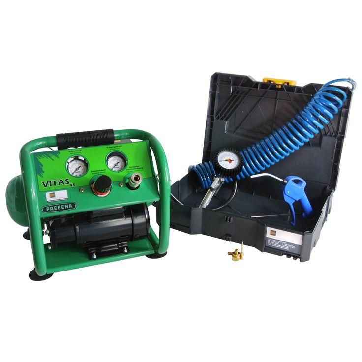 DF-Spar-Set Kompressor Prebena Vitas 45 + Zubehör im Systainer | Prebena Aktionen | Prebena-Vertrieb