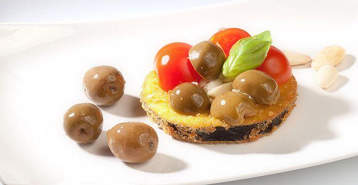 Ricetta Melanzane panate con olive Nocellara del Belice - Ricette con le Olive