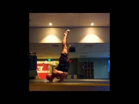 "Vinyasa inversions with Yogi Cam to ""IT Shocks"" By Slappin Plastic and M..."