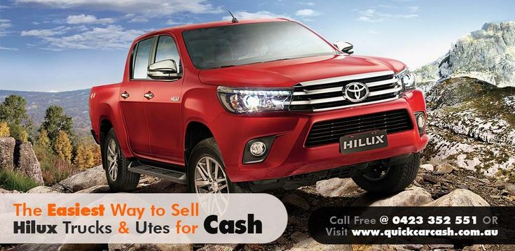 We buy used Toyota Hilux 4x4 for the best price. Sell your trucks and get the maximum cash in return. We can pickup the truck from your location in Sydney