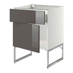 Meubles bas, hauteur caisson 60 cm. - Système METOD - IKEA