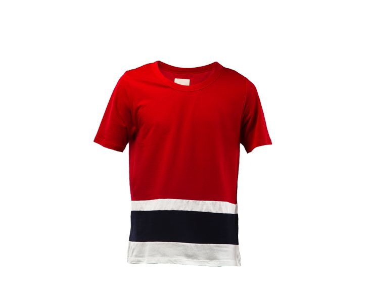 http://rsvpgallery.com/mens/band-of-outsiders-ss-panel-stripe-tee-red.html