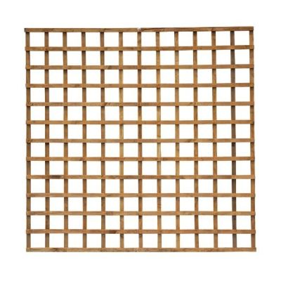 Heavy Duty Square Trellis Dipped in Golden Brown
