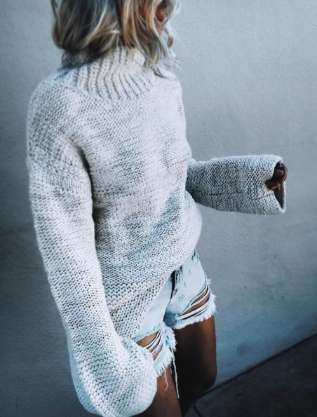 suki knit sweater //pinterest: juliabarefoot