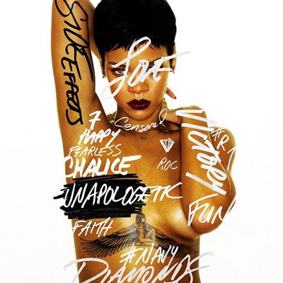 Rihanna Side Effects Unapologetic Album Artwork
