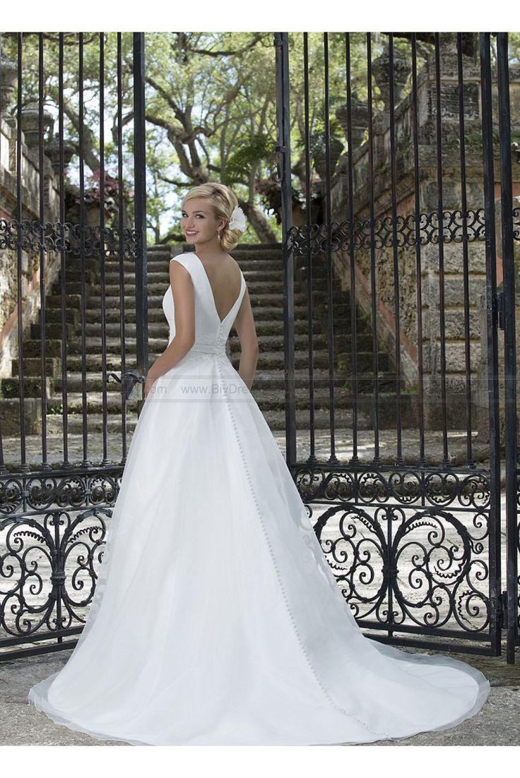 Sincerity Bridal Wedding Dresses Style 3897